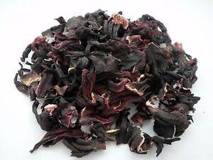 Hibiscus Loose Dried Flowers Loose Herbal Tea 450g  - Hibiscus Sabdariffa