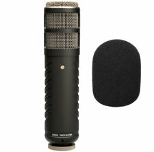 RODE Procaster Sprecher-Mikrofon + WS2 Schaumstoff Popschutz  Windschutz