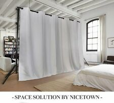 NICETOWN Utterblackout Living Space Divider Room Darkening Curtain Panel for