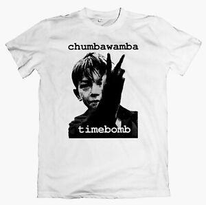 CHUMBAWAMBA 'Timebomb' T-shirt, crass credit to the nation negativland