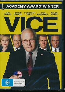 Vice (DVD, 2019) VGC, FREE POST