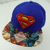 Superman Man of Steel DC Comics Ball Cap Hat Snapback Baseball