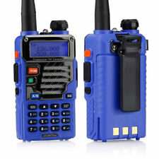 Baofeng UV-5R Plus Qualette Series Blue 136-174/400-520 MHz Ham Two-way Radio US