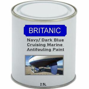 Britanic Cruising Marine Antifouling Paint - Navy/ Dark Blue - 2.5 Litres