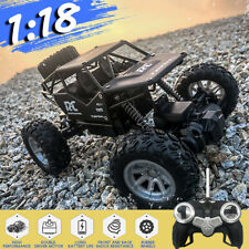 1/18 Remote Control Off-Road Alloy RC Car Electric Monster Truck Double