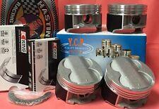 YCP B16 B18 B20 85mm Oversize HighComp Pistons + Rings + Bearing kit Honda Acura