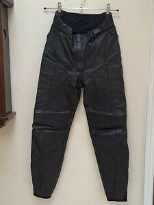 Alpinestars Stella ladies leather motorcycle trousers Size 8 EU 42