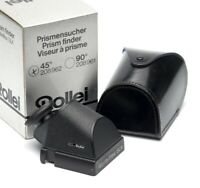 ✅ ROLLEI, ROLLEIFLEX 45* SLX PRISM FINDER FITS 6000 & 6008 SYSTEM SERIES BOXED