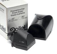 ✅ ROLLEI, ROLLEIFLEX 45* SLX PRISM FINDER FITS 6000 & 6008 SYSTEM SERIES BOXED