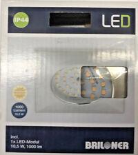 Briloner LED-Bad-Einbauleuchte 10.5W Warm-Weiß 7207-019 Aluminium