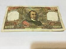 BILLET : BANQUE de FRANCE  100 FRANCS : CORNEILLE type 1964 = Z.5-10-1978.Z.