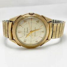 No Reserve! Bulova 23J Automatic Vintage Mens Watch (3412)