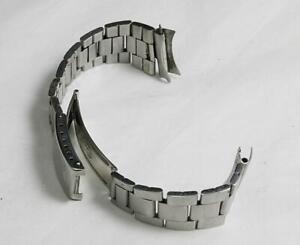 VINTAGE ROLEX 7835 19mm Men's Folded Oyster Bracelet w/ 357 165mm End to end