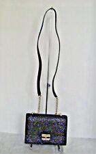 Kate Spade Eden Sunset Lane Glitter Crossbody Bag Black - WKRU4812