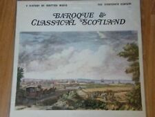 A History Of Scottish Music - 4 : The Eighteenth Century LP (UK 1972) : Various