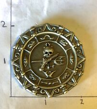 NAVY SEAL TEAM 5 Pirate Skull Mess NSW USN CHALLENGE COIN CPO CHIEF FIVE
