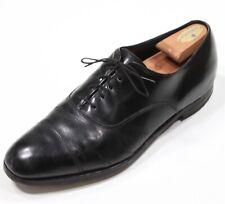 Allen Edmonds Park Avenue Black Captoe Leather Oxford Dress Shoes Men's 12 D