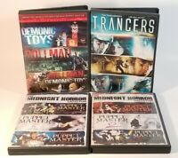 Horror DVD Lot, Full Moon Features, 4-Disc, 12 Movie Total, Trancers, Dollman...