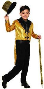 Forum Novelties Child's Sequin Tailcoat, Silver