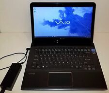 "SONY VAIO 14"" TOUCHSCREEN LAPTOP SVE14AJ16L Intel i5 6GB 750GB SVE14A35CXH"