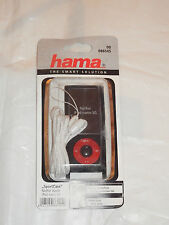 """00086145 """"Hama Sport Case"""" mp3 Custodia per iPod Nano 5g, nero + Cinghia + PELLICOLA"""