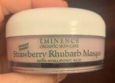 Eminence Strawberry Rhubarb Masque 2oz New