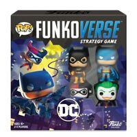 POP! FunkoVerse DC Strategy Game Batman Batgirl Joker Harley Quinn 2-4 Players