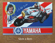 Sticker Aufkleber Barry Sheene Akai Yamaha YZR500 Racing Motorcycle 80er RAR