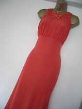 AX PARIS FULL LENGTH EMBELLISHED NECK COCKTAIL MAXI DRESS SIZE 16 BNWT RRP £45