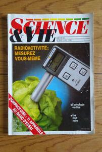 Magazine - Science et vie 1986