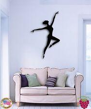 Wall Sticker Dance Dancing Ballet Dancing Ballerina for Bedroom z1352