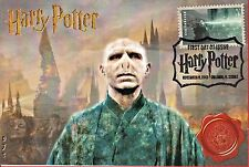 """ Voldemort""Harry Potter Stamp Fdc on 4x6 Postcards Easily Framed Orlando 11/19"