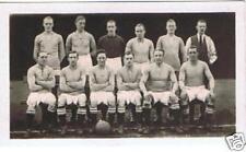"""c1925 """"Chums"""" Football Teams card - Nelson, FREEPOST"""