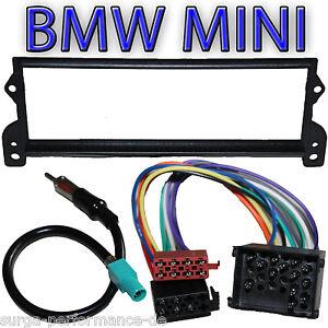 BMW Mini Cooper Adaptador de Antena Marco Radio Iso Juego Cables