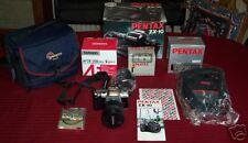 PENTAX ZX-10 35MM SLR AUTO/MANUAL CAMERA SET (EXCELLENT