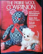 Prairie Wool Companion 16 Coverlets Part 2 Miniatures Lampas Weaving Magazine
