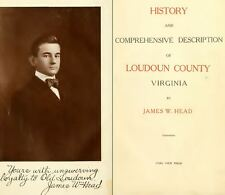 1908 LOUDOUN County, Virginia VA, History & Genealogy Family Tree DVD CD B49