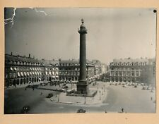PARIS c. 1935 - 2 Photos Place Vendôme Parc Automobiles - PL 1492