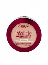 1 X L'Oreal Infallible Long Lasting Creamy Powder Foundation - 200 Golden Sand