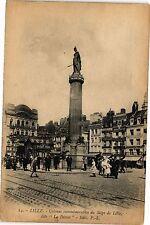 """CPA  Lille - Colonne commémerative du Siége de Lille, dite """"La Dieste""""  (204243)"""
