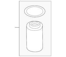 Genuine Land-Rover Oil Filter LR013148
