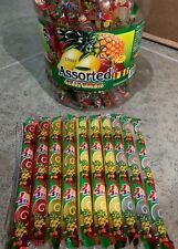 TikTok JIN JIN JUICY Assorted Jelly Strips Straws Sticks Tik Tok 10pc Ju-c Candy