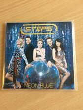 "Steps ""Neon Blue"" mint 1 Track Promo CD"