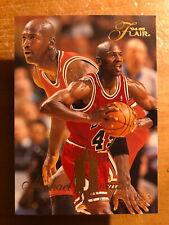 MICHAEL JORDAN 1994-95 FLAIR #326 / 25 years but BEAUTY & PERFECT !!!