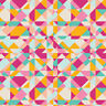 Art Gallery 100% cotton quilting & patchwork fabric triangle prints per FQT