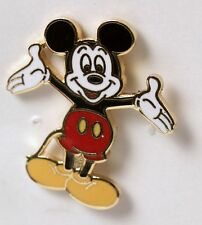 Mickey Mouse Enamel Pin Tack Open Arms 1.5 Inches Tall