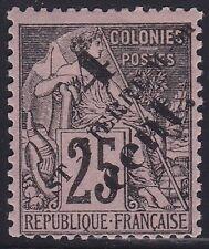 SAINT PIERRE ET MIQUELON N°42* Alphée Dubois, TB, 1891 FRANCE COLONY SPM MH