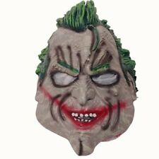 The Joker Mask Arkham City 2015 Adult Rubber Halloween Cosplay Batman DC Comics