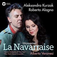 Aleksandra Kurzak Roberto Alagna - La Navarraise (NEW CD)
