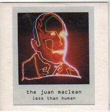 (EM827) The Juan Maclean, Less Than Human - 2004 DJ CD